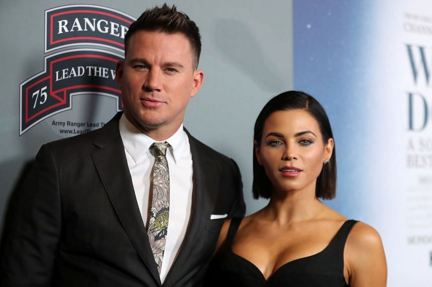 """Channing Tatum and Jenna Dewan Tatum, who married in 2009, said that they had """"lovingly chosen to separate as a couple""""."""