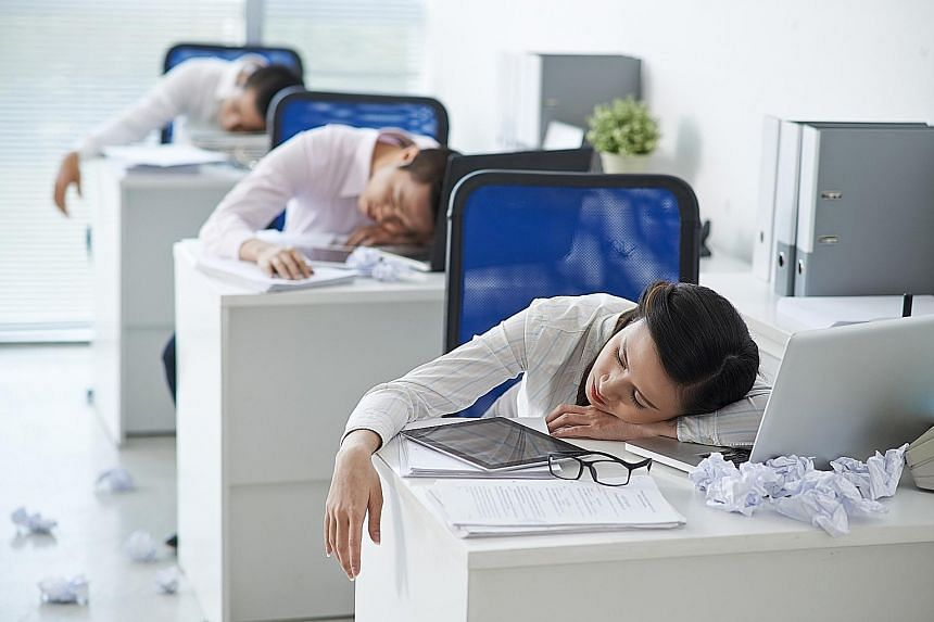 Sleep deprivation still a problem in work-oriented, fast-paced Singapore,  Health News & Top Stories - The Straits Times