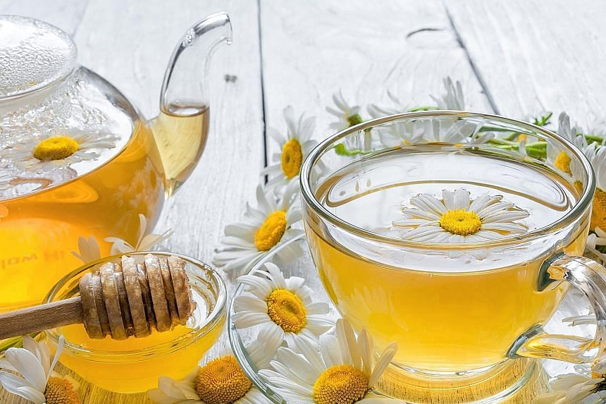 The age-old calming remedy of chamomile tea increases glycine in the body, which relaxes nerves and muscles.