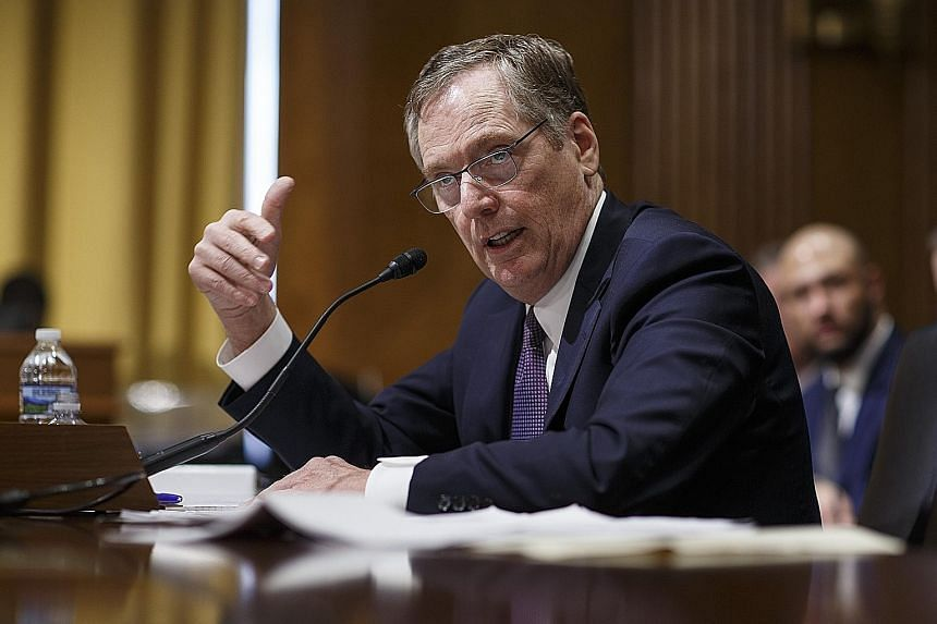 "US Trade Representative Robert Lighthizer has said that preserving America's technological edge is ""the future of the US economy""."