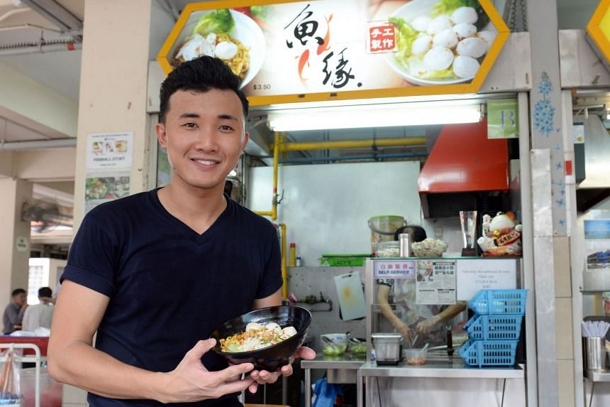 Douglas Ng, owner of Fishball Story, which has moved from Golden Mile to Timbre+.