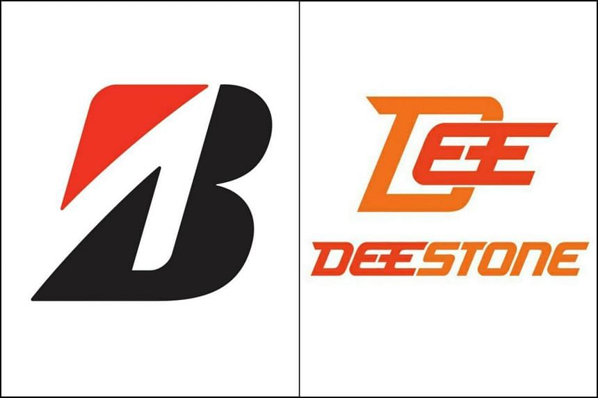 """Bridgestone (left) had made an application under the Singapore Trade Marks Act relating to Deestone's use of what Bridgestone claimed constitutes its family of """"stone"""" marks."""