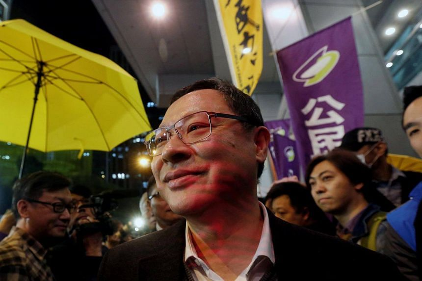 Law professor Benny Tai said he did not support independence for Hong Kong and had only been speaking hypothetically.