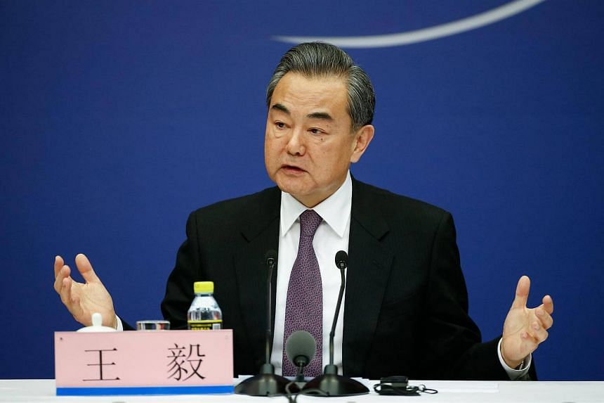 China's Foreign Minister Wang Yi told reporters in Beijing that China hoped all sides cherish the opportunity.