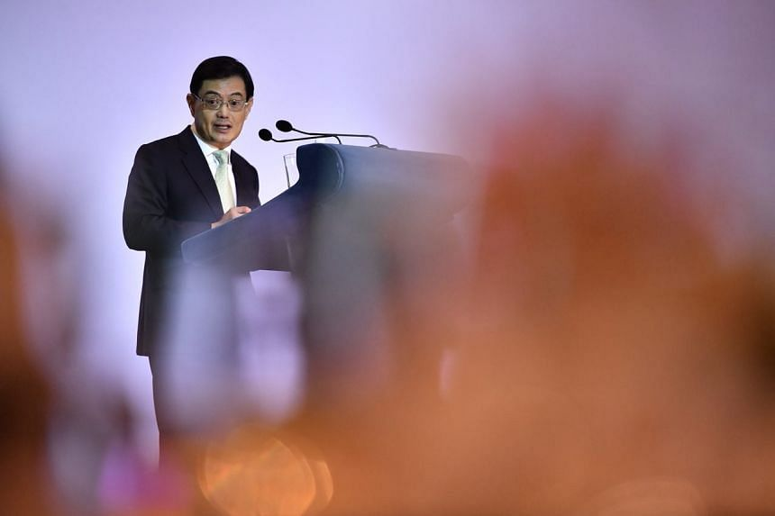 """Finance Minister Heng Swee Keat said at the annual administrative service dinner and promotion ceremony on April 3 that trust between Singapore's political leaders and the civil service """"is a rare, precious, and fragile thing""""."""