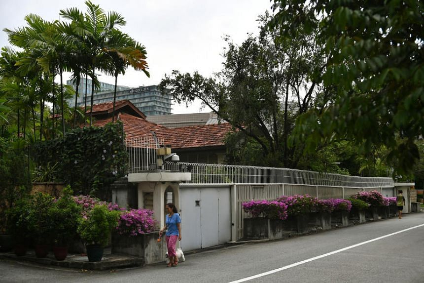 The ministerial committee set up to consider the future of 38, Oxley Road, laid out three options for the house for a future government to decide.