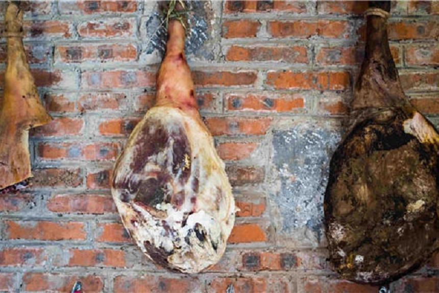 Brown mould is better for ham as it contains active yeast.
