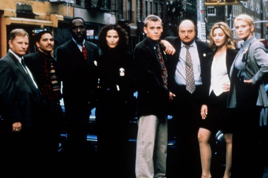 Television writer Steven Bochco broke new ground with shows such as NYPD Blue (above), which faced backlash for its nudity and explicit language.