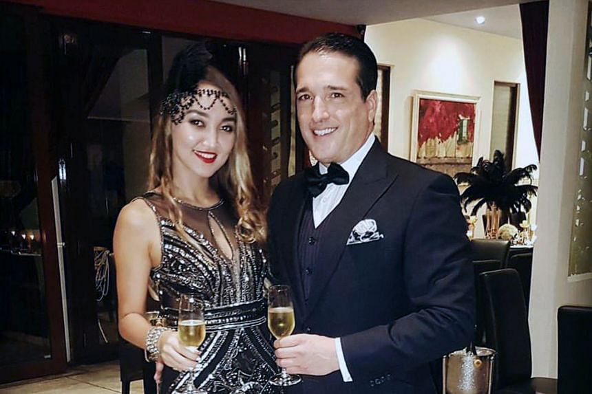 American businessman Alex Johnson and his wife Luna said they had sex with Dutch model Ivana Smit (right) three weeks earlier and on the day she was found dead.