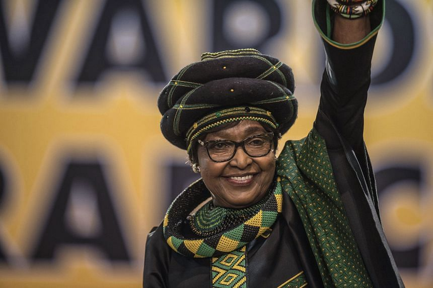 Ms Winnie Mandela played a key part in the campaign to end apartheid in South Africa.