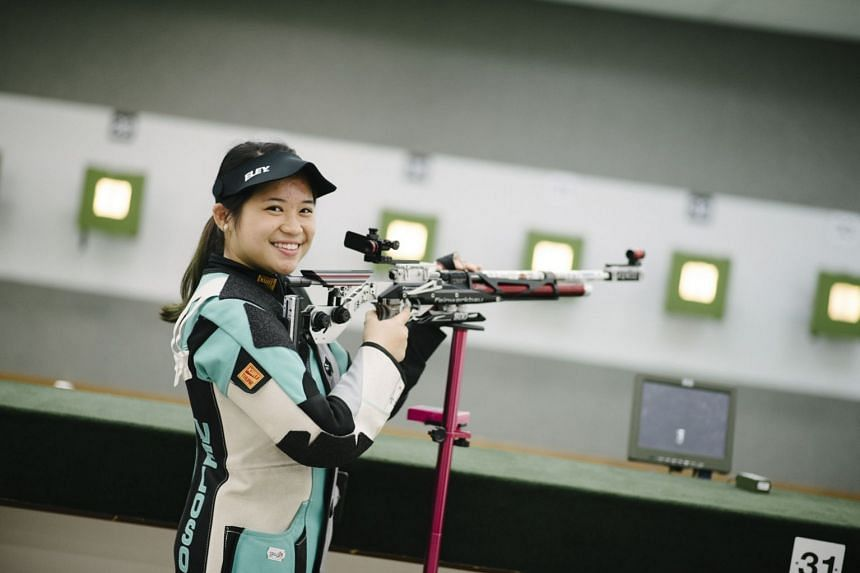 """Shooter Martina Veloso said: """"My training has gone well and I'm feeling good. The team is relaxed and we want to do well."""""""