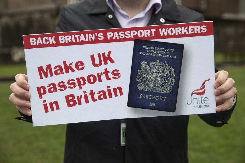 Britain Delays Decision On PostBrexit Passports After Furore Over - Legal contract maker