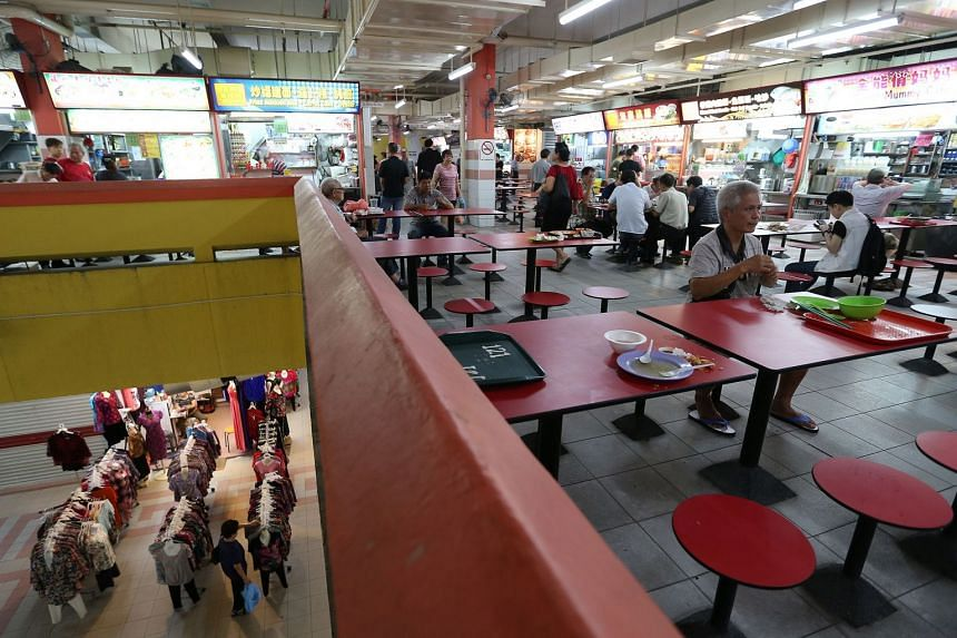 Chinatown Food Complex is home to 200 hawker stalls.