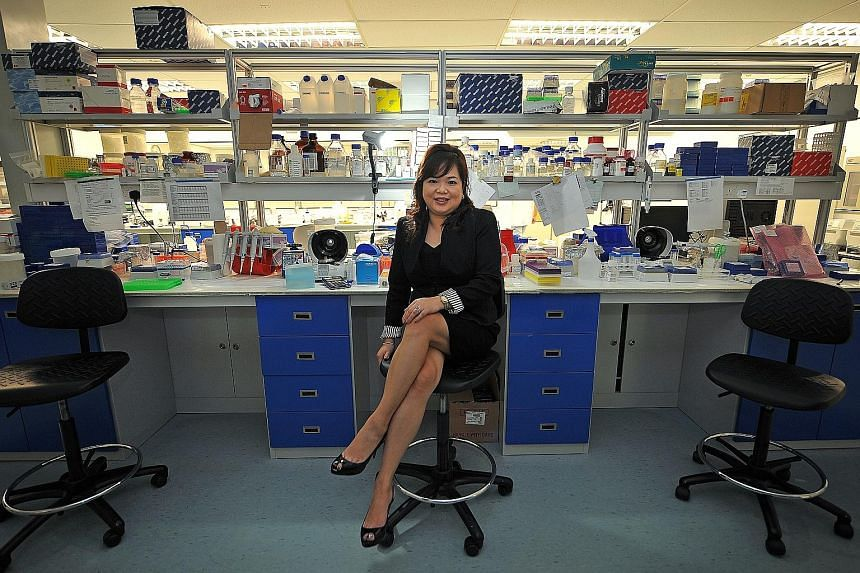Dr Rosemary Tan started Veredus Laboratories in 2003, and will continue to be its CEO and director after it is acquired by Japanese firm Sekisui Medical.