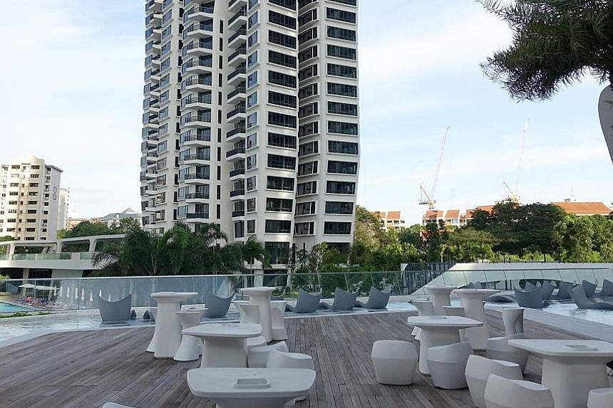 At the d'Leedon condominium in Farrer Road, the two hosts would at first take their guests to a different unit to evade suspicious security guards.