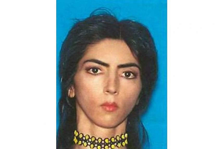 Police in San Bruno, California, identified the suspect as Nasim Aghdam (above), according to news organisations including The Los Angeles Times, which cited an unidentified law enforcement source.