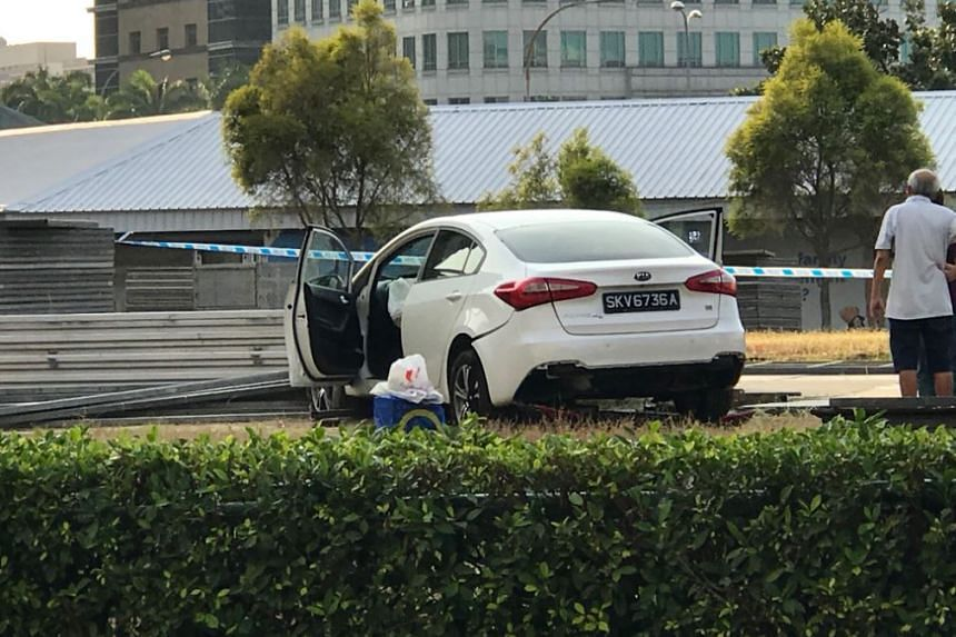 The accident occurred at around 5.20pm in Tampines Central 5, the police told The Straits Times.
