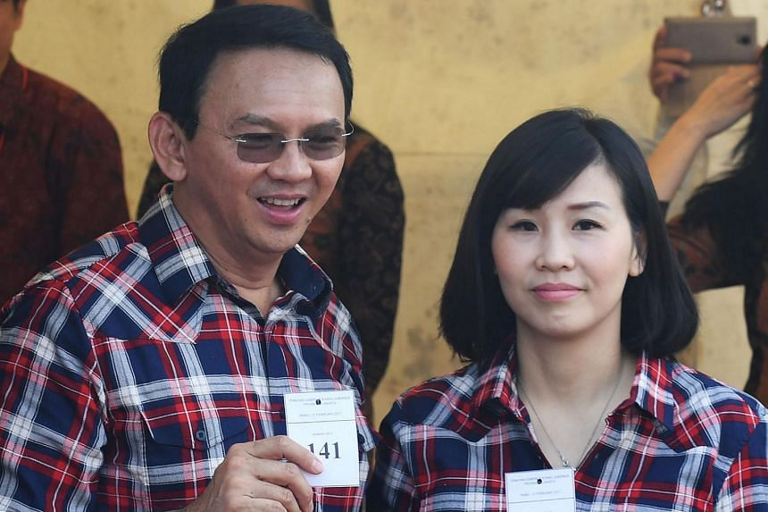 Former Jakarta governor Basuki Tjahaja Purnama filed for divorce from Madam Veronica Tan on Jan 8. Basuki was granted custody of their two younger children.