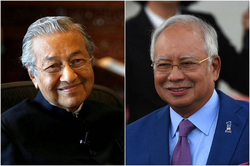 Dr Mahathir Mohamad (left) and PM Najib Razak defended the Malaysian chef who was eliminated from the quarter-finals of MasterChef UK.