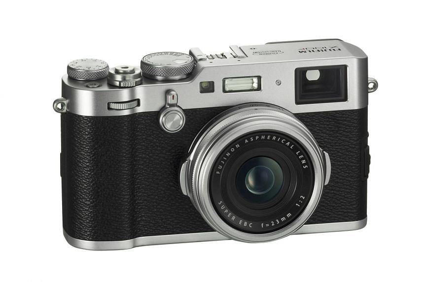 Mr Masazumi Imai designed the X100 compact camera and helped Fujifilm (above) carve out a niche in the competitive camera market with its X-series.