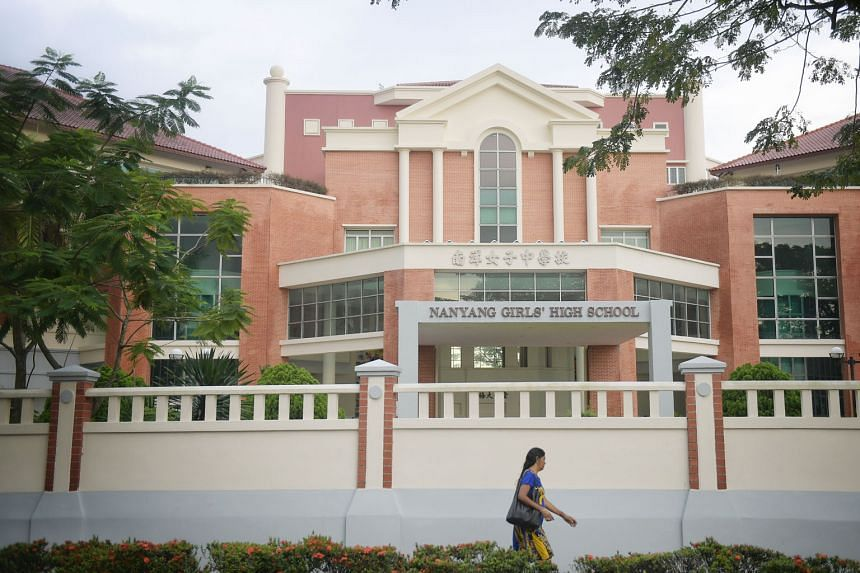 Nanyang Girls' High School has suspended its boarding school programme for a week and is monitoring the situation after 110 students staying in the boarding school fell ill. The principal said the majority of the affected girls were back in school as