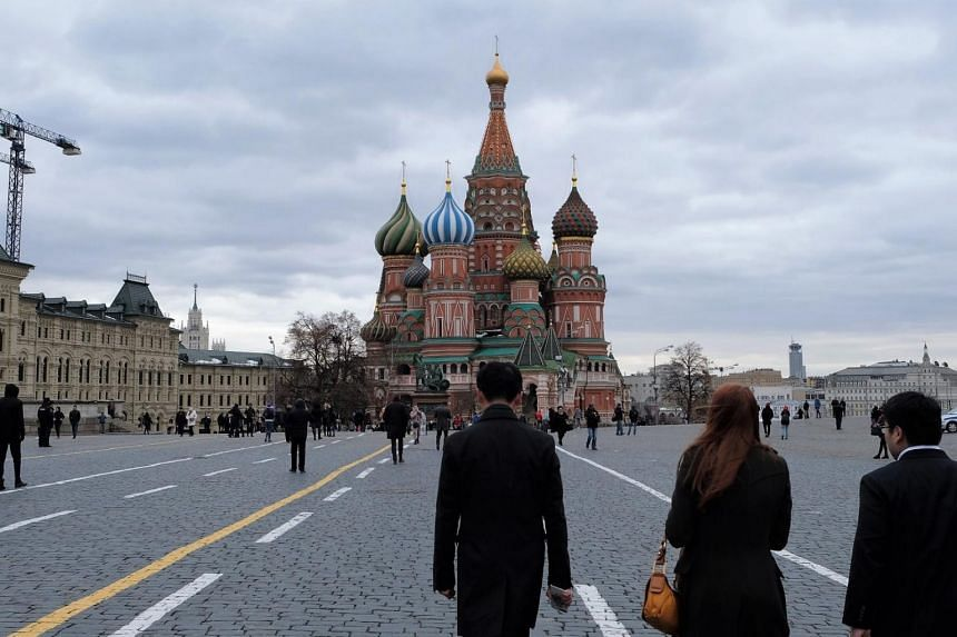 Second Minister for Defence Ong Ye Kung shared photos of his visit on Facebook, including one of the colourful St Basil's Cathedral in the Red Square, and Lenin's Mausoleum.