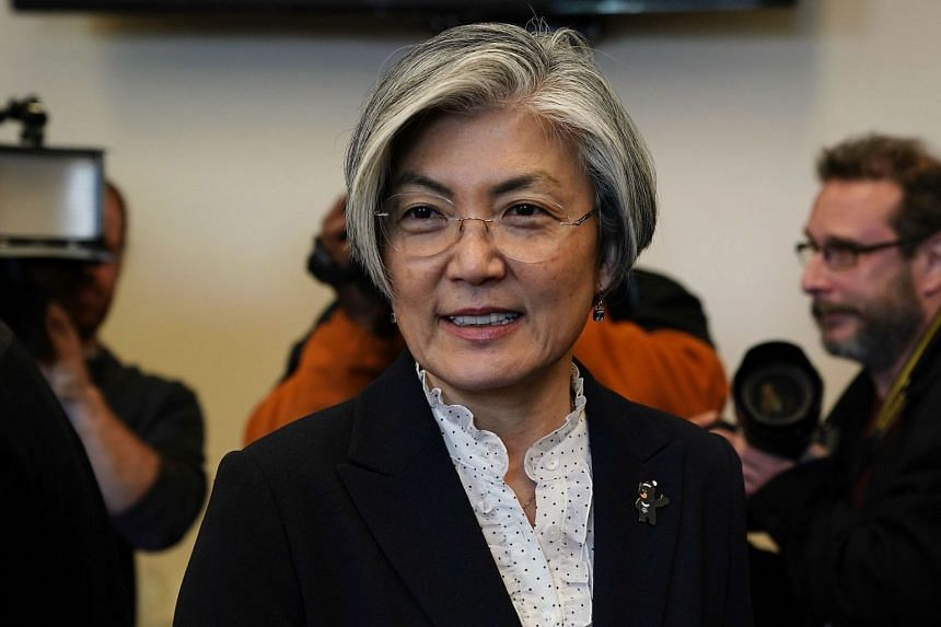 South Korean Foreign Minister Kang Kyung Wha said the prospect of President Moon Jae In discussing the human rights situation in North Korea was unlikely.