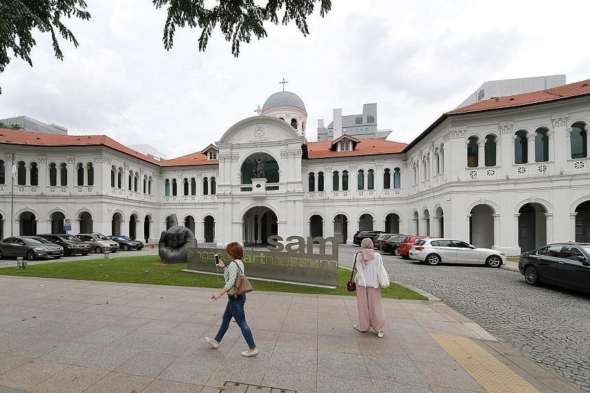 The upgrade of the Singapore Art Museum is expected to be completed in 2021.