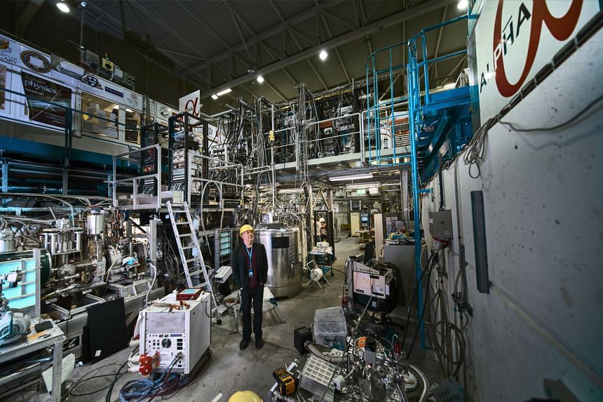 Jeffrey Hangst of the ALPHA experiment at the European Organisation for Nuclear Research (CERN).