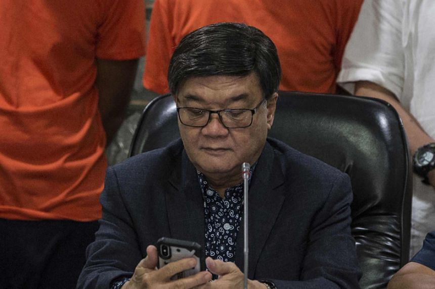 Philippine President Rodrigo Duterte gave no reason for letting his justice secretary Vitaliano Aguirre (above) leave, but it came at a time of rampant media speculation he would be sacked over his performance.
