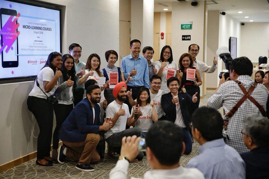Temasek Polytechnic has rolled out mobile micro-learning courses for busy professionals in collaboration with Gnowbe, a microlearning app.