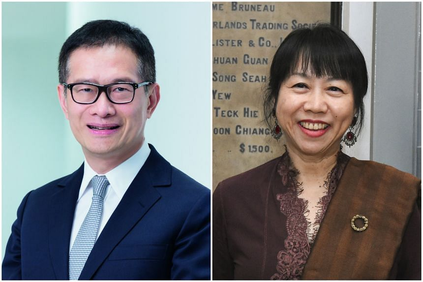 Wing Tai Holdings deputy chairman Edmund Cheng (left), who will be succeeding Jane Ittogi as Singapore Art Museum chair.