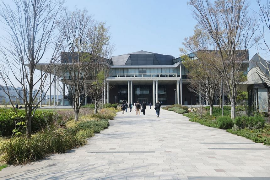 The futuristic looking Tokyo University of Science's Katsushika campus, where the Space Colony Research Centre is located. The centre seeks to nurture interest in space among a younger generation - and to foster investment interest among companies an