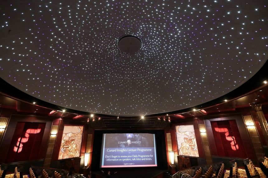 Guests can experience the wonder of astronomy in the first planetarium at sea.