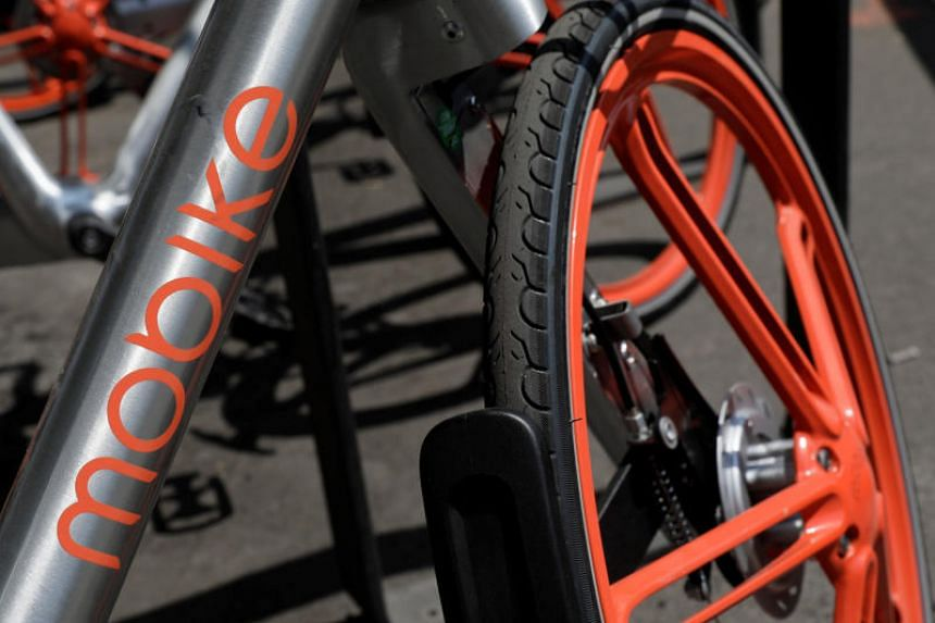 Mobike lured investors by cultivating a premium gloss. It created bikes with snazzy orange wheels that cost as much as 3,000 yuan (S$624) and equipped them with satellite positioning.