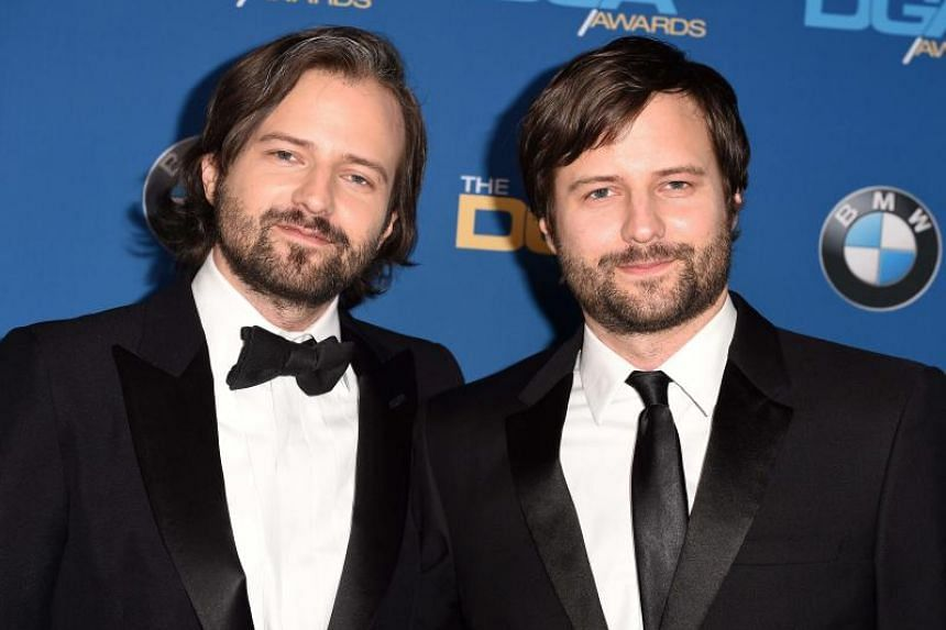 Stranger Things creators Ross Duffer and Matt Duffer at the 2018 DGA Awards at the Beverly Hilton, on Feb 3, 2018.