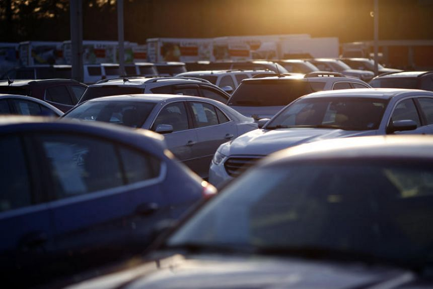 Automobile companies were affected by the trade tensions bewteen China and the US, the world's two largest economies.