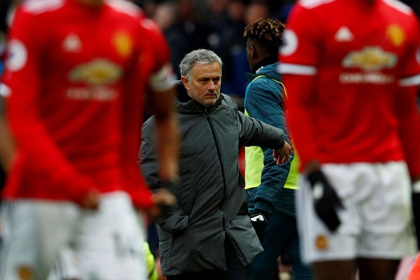 Mourinho was in a sour mood ahead of the derby match against City.