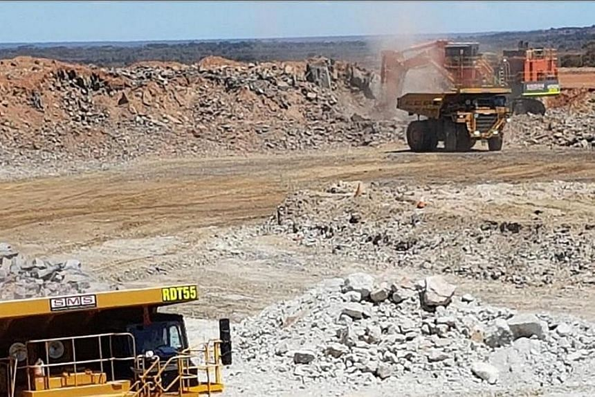 Mining at Bald Hill. The Alliance and Tawana merged entity will own 100 per cent of the Bald Hill project.