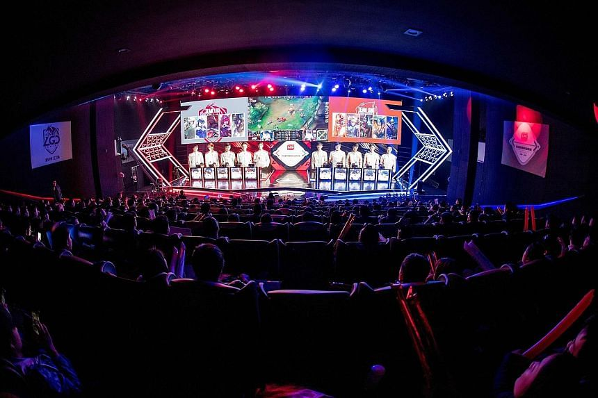 LGD Gaming's multimillion-dollar eSports venue in Hangzhou has a 400-seat capacity and packs in pumped-up fans when it hosts matches featuring the home team in the League Of Legends Pro League.