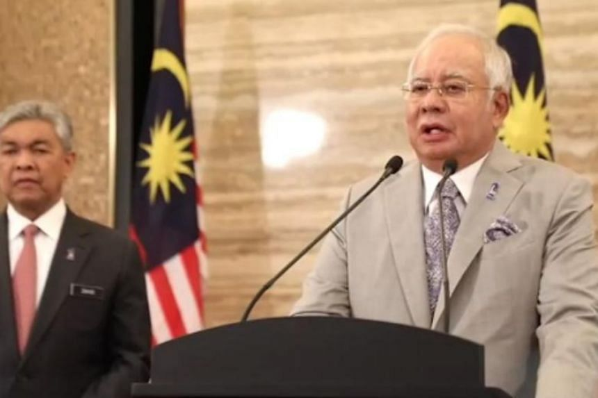 Prime Minister Najib Razak was given an audience by the King on Friday morning (April 6) ahead of a Cabinet meeting, reported The Star, before making the announcement live on national television at 12.15pm.