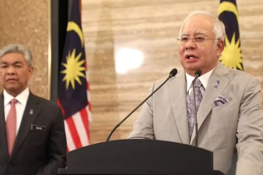 In his live address on TV1, the Prime Minister is expected to present his case on why Barisan Nasional should be returned to Putrajaya.