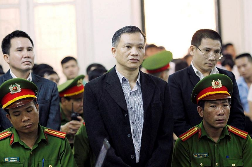 "Vietnamese human rights lawyer and activist Nguyen Van Dai was jailed for 15 years after being charged in court with activities ""aimed at overthrowing the people's administration"" at a tightly guarded trial."