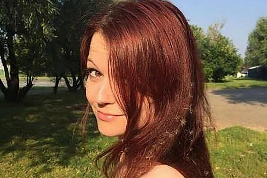 Yulia Skripal, the daughter of former Russian spy Sergei Skripal. She made her first public comments, since being poisoned in Britain last month with her father, on April 5, 2018.