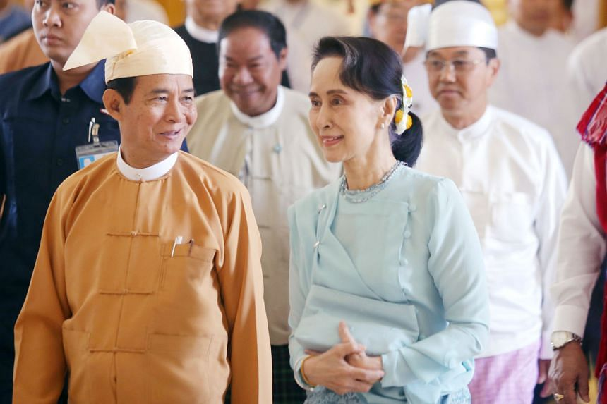 Myanmar President Win Myint is expected to be a central member of Ms Aung San Suu Kyi's executive committee, as he is her close confidant.