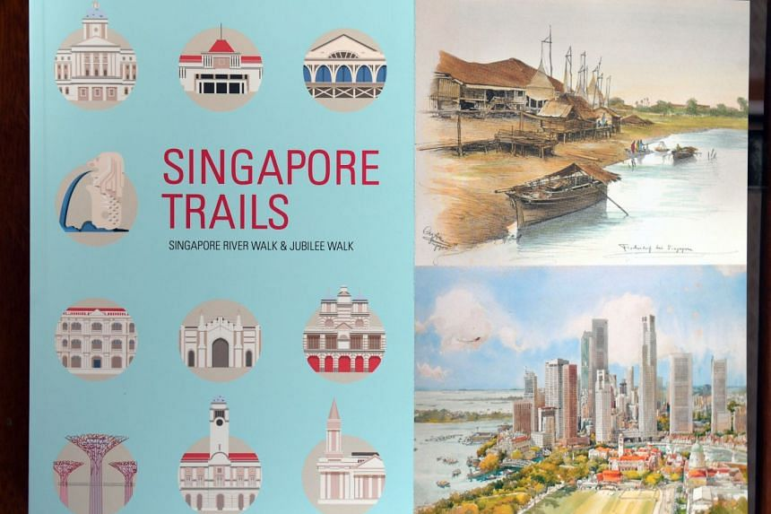 Singapore Trails: Singapore River Walk and Jubilee Walk details two specially-curated walking routes that take in the city's development from a 19th Century port to a modern city.