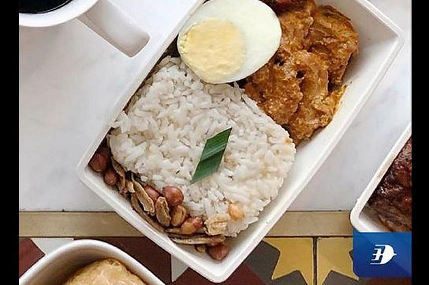 "(From far left) The SCDF, KFC Malaysia, Ikea Singapore, Malaysia Airlines and Malaysia's TGV Cinemas responded with tongue-in-cheek posts following the furore over a MasterChef UK judge's comment that a contestant's rendang dish was ""not crispy enoug"