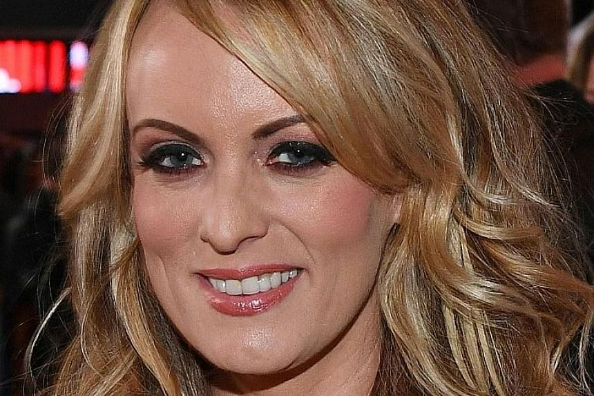Ms Stormy Daniels says she was paid to cover up a sexual tryst with Mr Donald Trump over a decade ago.