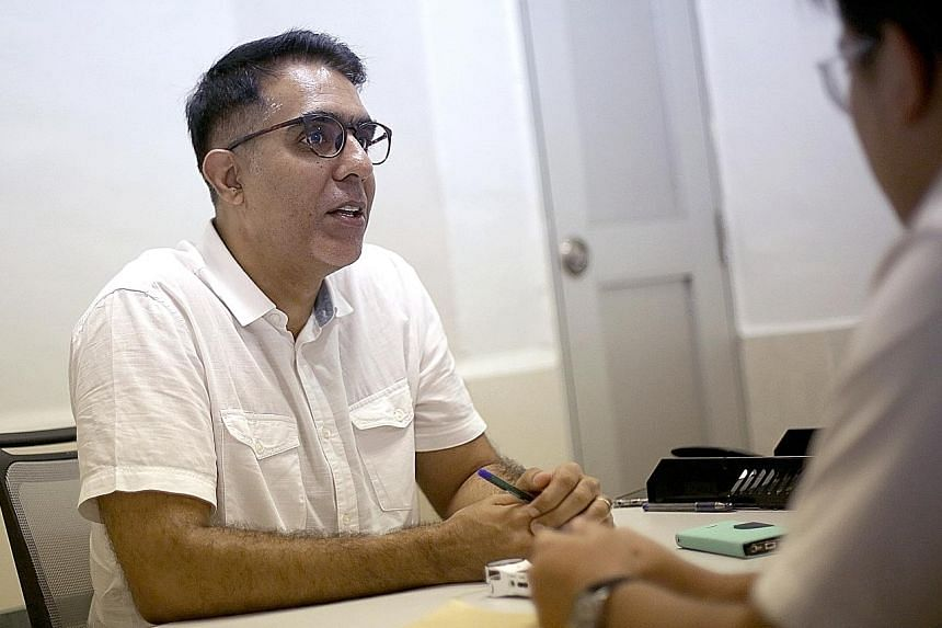 It is understood that Mr Chen Show Mao (above) held a meeting recently with his core group of supporters, numbering about 30, where he told them he does not intend to challenge Mr Pritam Singh (left) for the party's top post tomorrow.