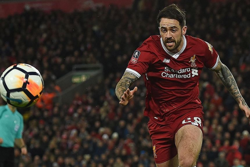 Danny Ings, whose last league start for Liverpool came in a Merseyside derby in 2015, may get the nod against Everton again today.
